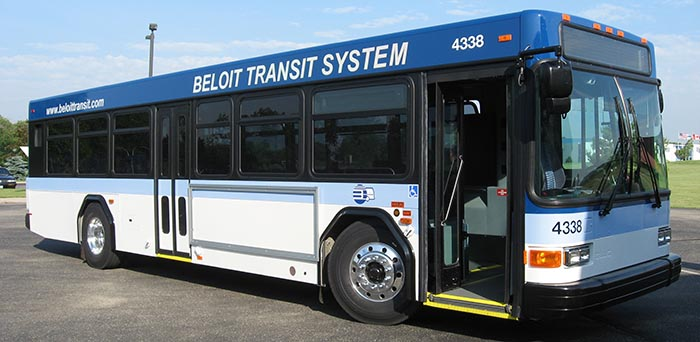 Beloit Transit Bus