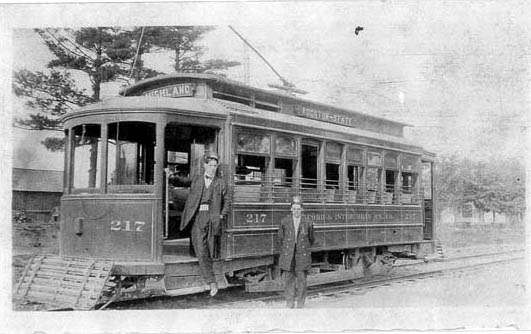 Beloit Transit History Interurban