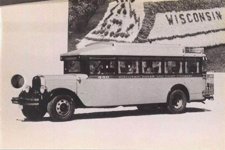 Beloit Transit System History Interurban Buses Transportation Wisconsin