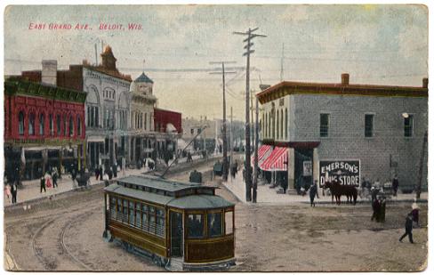 beloit transit history streetcar